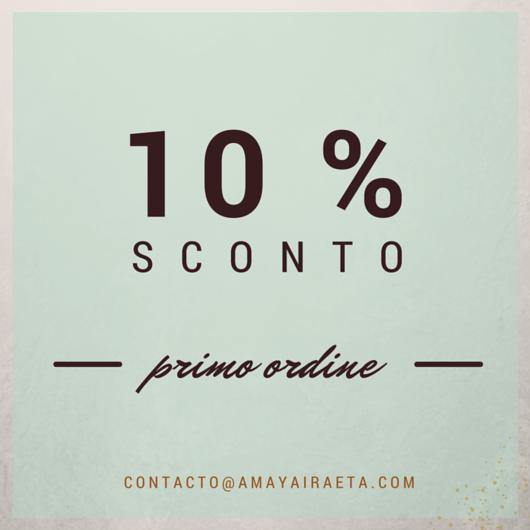 10% sconto primo ordine
